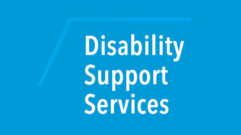 Disability Support Serivces