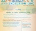 IDI Grant Program poster, fall 2014
