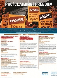 ProClaiming Freedom events poster