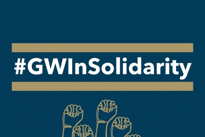 #GWInSolidarity Graphic