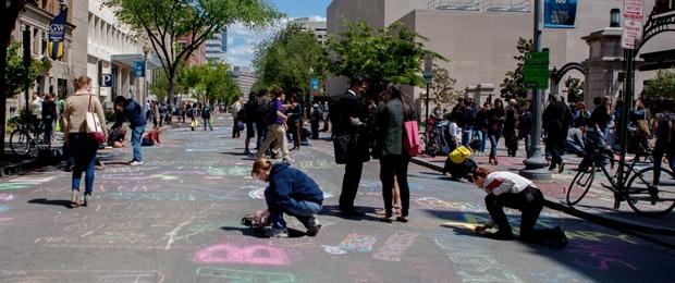 Chalk In photo