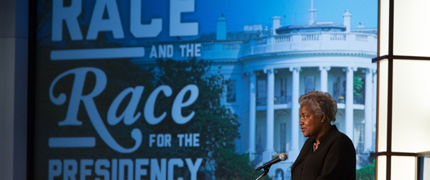 Photo of Donna Brazile and the Race for the Presidency Symposium